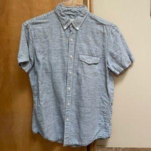 American Eagle Striped Men's Button Up Small